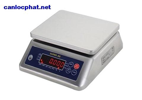 Hình cân điện tử 2kg super-ss