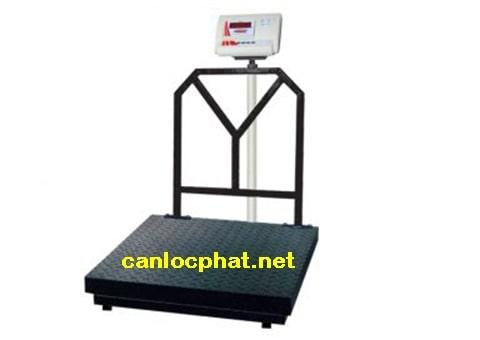 Hình cân điện tử 100kg xe kéo