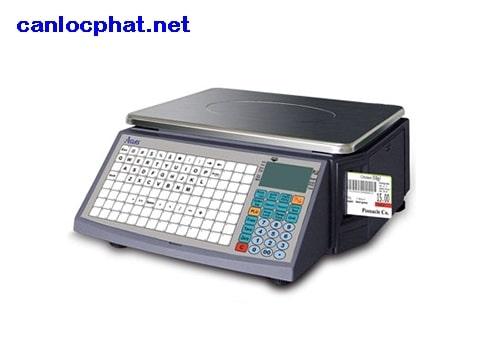 Hình cân điện tử 30kg in tem