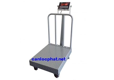 Hình cân điện tử 50kg xe kéo