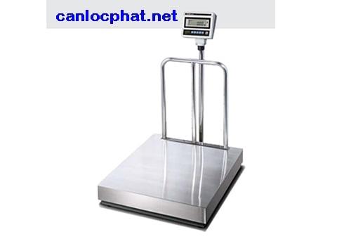 Hình cân điện tử 60kg xe kéo