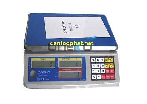 Hình cân điện tử 10kg oneko