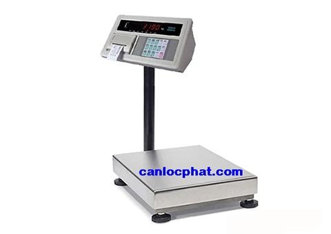 Hình cân điện tử in hóa đơn 100kg