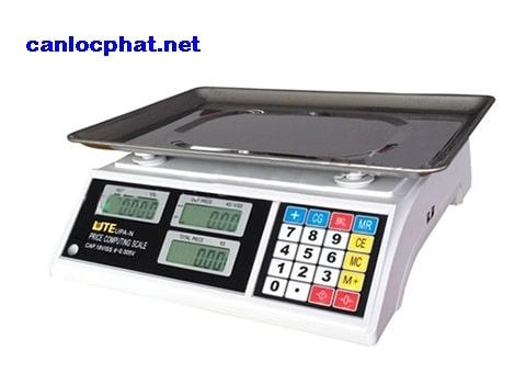 Hình cân điện tử in hóa đơn 10kg