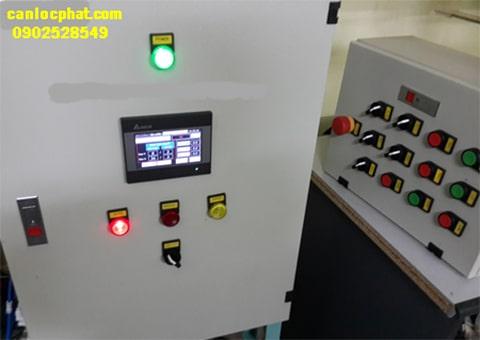 Tủ điều khiển cân đóng bao