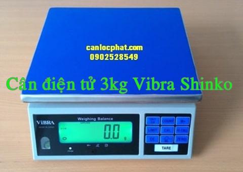 Cân điện tử 3kg shinko vibra