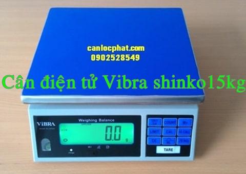 Cân điện tử vibra 15kg