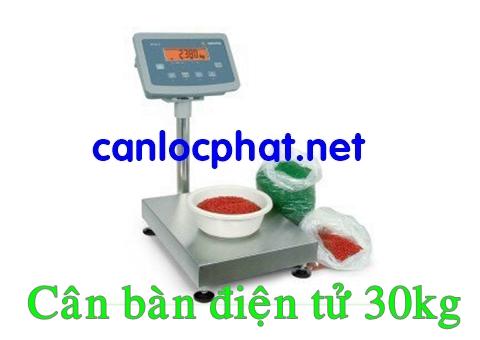 Hình cân bàn điện tử 30kg
