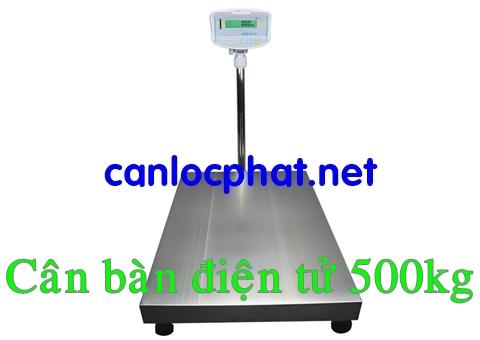 Hình cân bàn điện tử 500kg