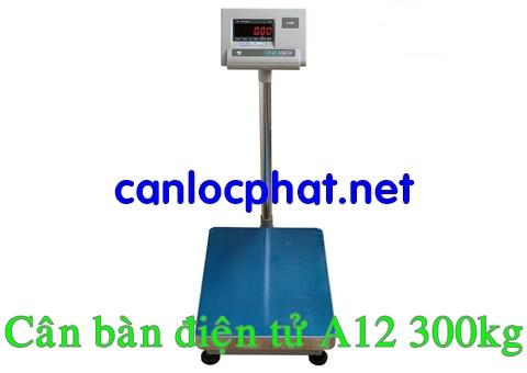 Hình cân bàn điện tử 300kg