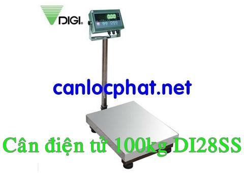 Cân điện tử 100kg DI28SS