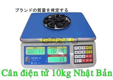 Cân điện tử 10kg nhật bản