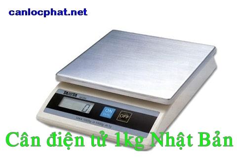 Cân điện tử 1kg nhật bản