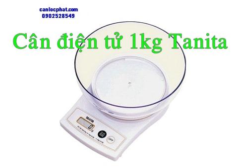 Cân điện tử 1kg Tanita
