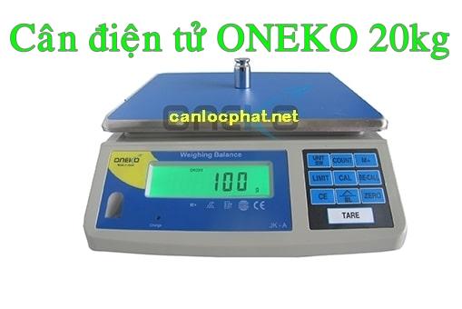 Cân điện tử oneko 20kg
