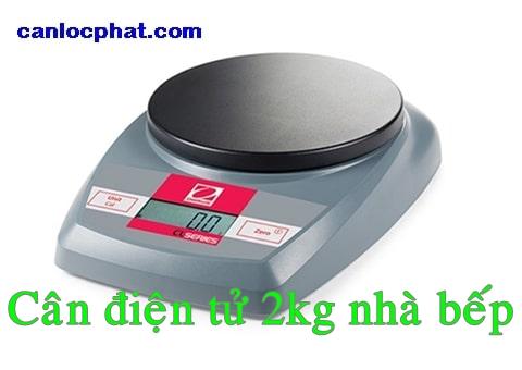 Cân điện tử 2kg nhà bếp