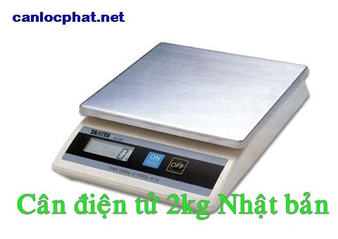 Cân điện tử 2kg nhật bản