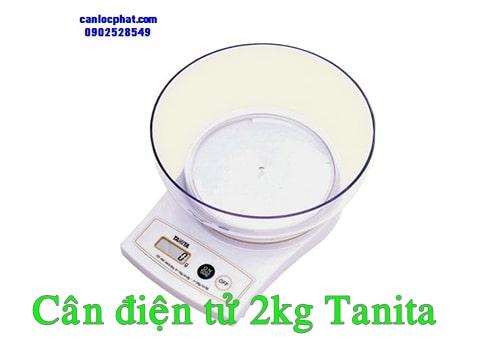 Cân điện tử 2kg tanita