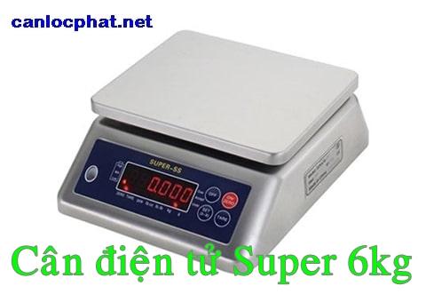 Cân điện tử Super 6kg