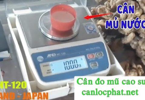 Cân đo mủ cao su